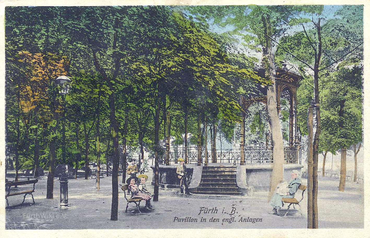 Dateipavillon Englischer Garten 1910jpg Fürthwiki