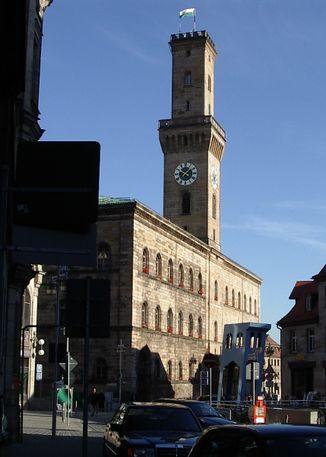 Tannenbaum Fürth.Rathaus Fürthwiki