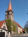 "Die <a class=""mw-selflink selflink"">Kirche St. Peter und Paul</a> in Poppenreuth"