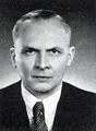 Pressefoto Dr. Friedrich Winter (CSU), 1950
